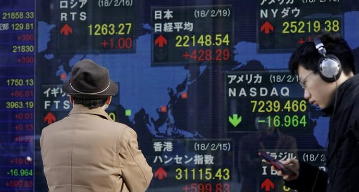 Asian market gains as caution prevails in the markets globally