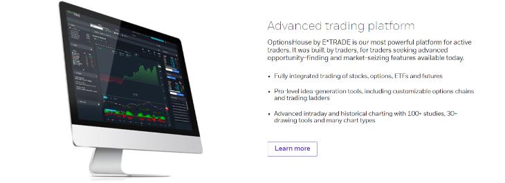 etrade desktop trading platform