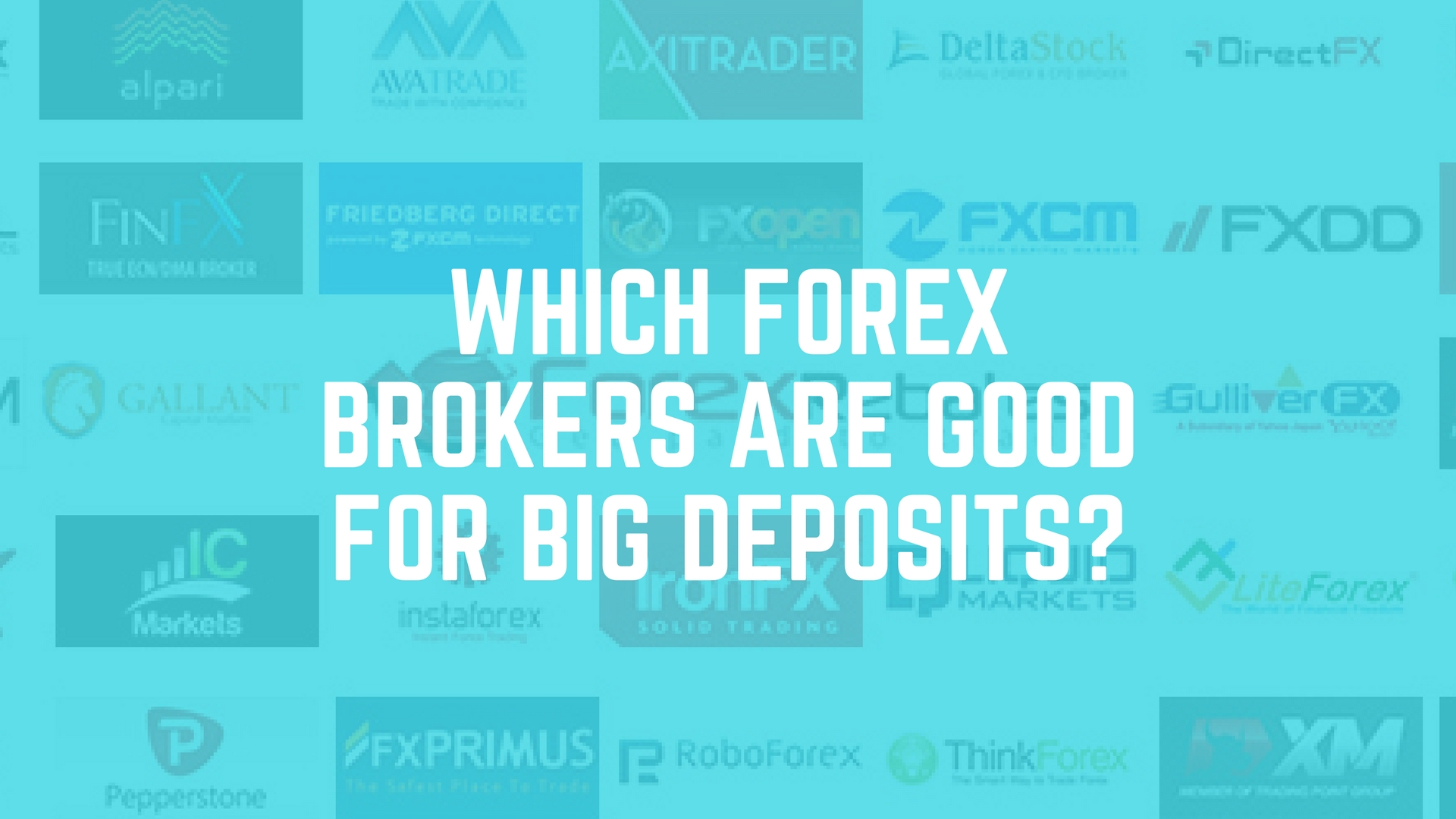 Big forex brokers