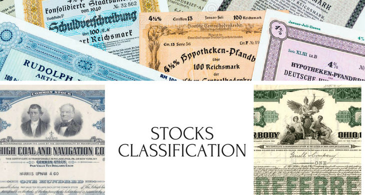 What are different types of Stocks?