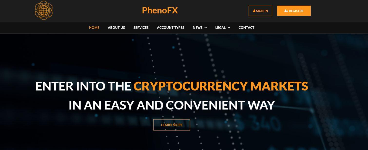 phenofx homepage